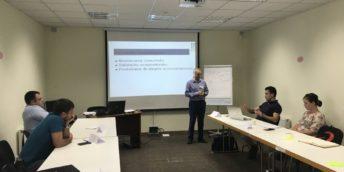 Participanții la Programul Fit for Partnership with Germany continuă activ instruirile