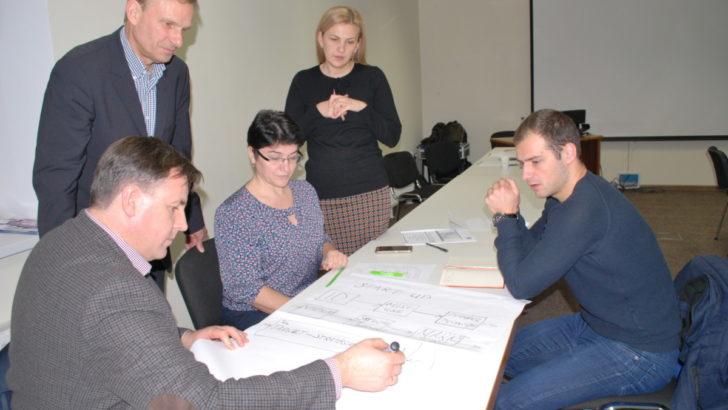 """La CCI a RM s-a dat startul primei etape a """"Programului de sporire a calificării managerilor Moldova – Austria"""""""