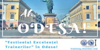 """""""Festivalul Excelenței Trainerilor"""" în Odesa!"""