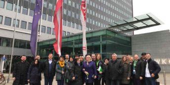 Vizita de studiu, organizată în cadrul Programului de sporire a calificării managerilor Moldova-Austria.