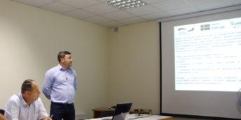 """Examenul de absolvire și prezentarea lucrării  în cadrul cursul de instruire ,,EUREM– Manager Energetic European"""""""