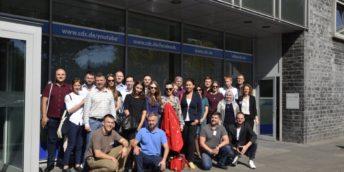 Группа предпринимателей из Молдовы и Республики Беларусь в Кельне