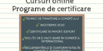 Programe de certificare online în colaborare cu ICC Academy și Academia Exporatorilor CCI RM