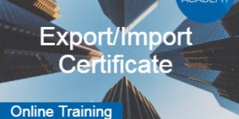 Export/Import Certificate (EIC)