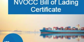 IMB NVOCC Bill of Lading Certificate (NBL)