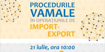 """Master class """"Procedurile vamale în operațiunile de import-export"""""""