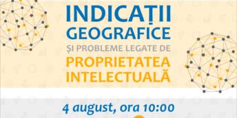 """Master class """"Indicații geografice și probleme legate de proprietatea intelectuală"""""""